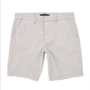 Joe's Kinetic Harbor Mist Grey Chino Men's Shorts